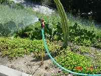 Support a nozzle any place it's needed with the WEED TWISTER